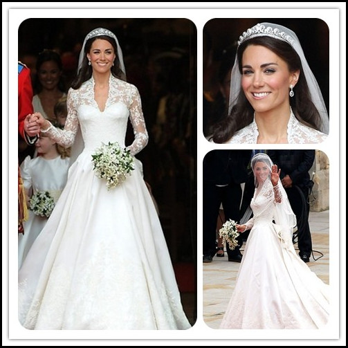 Real-life Cinderellas' Royal Wedding Hairstyles By EvaWigs | Chic .