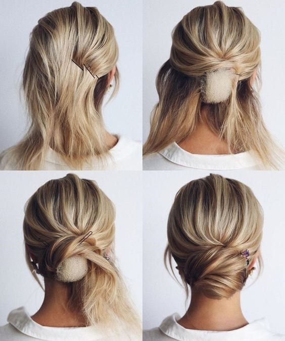 30 Pretty Chignon Hairstyles + What It Is & a History - My New .