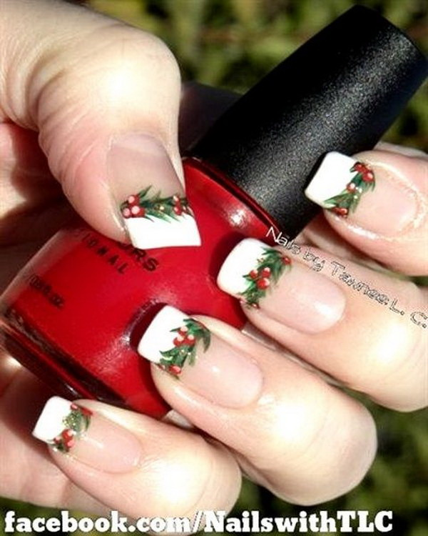 70+ Festive Christmas Nail Art Ideas - For Creative Jui