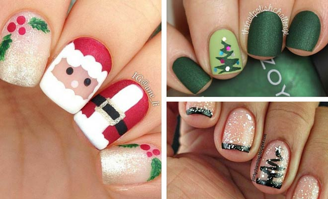 71 Christmas Nail Art Designs & Ideas for 2019 | StayGl