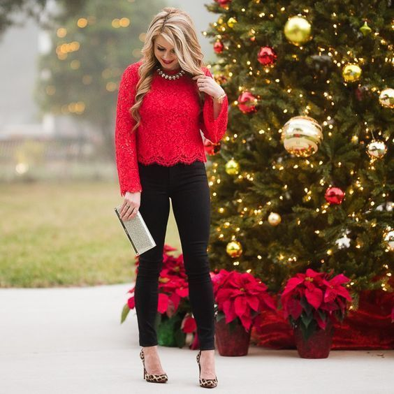 12 Charming Christmas Party Fashion Style Pretty and Awesome .
