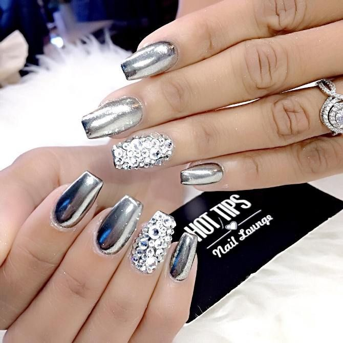 Fabulous Mirror Nail Designs That Will Glam Up Your Nails - Be .