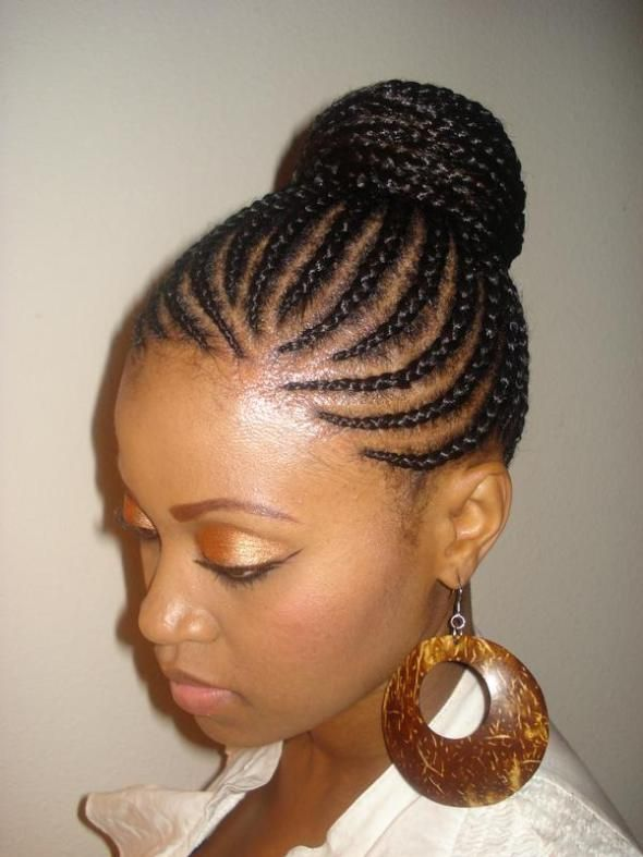 cornrow hairstyles for black women | Classy Cornrows Hair styles .