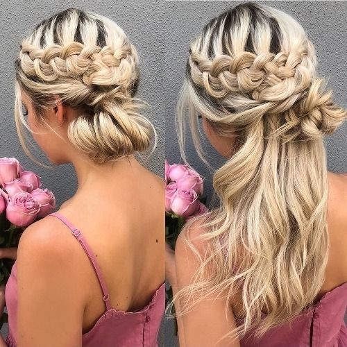 Classy braided hairstyles for a chic appearance in 2020 | Cute .