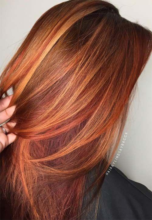 Copper Hair Color Ideas   Warm hair color, Hair color shades .