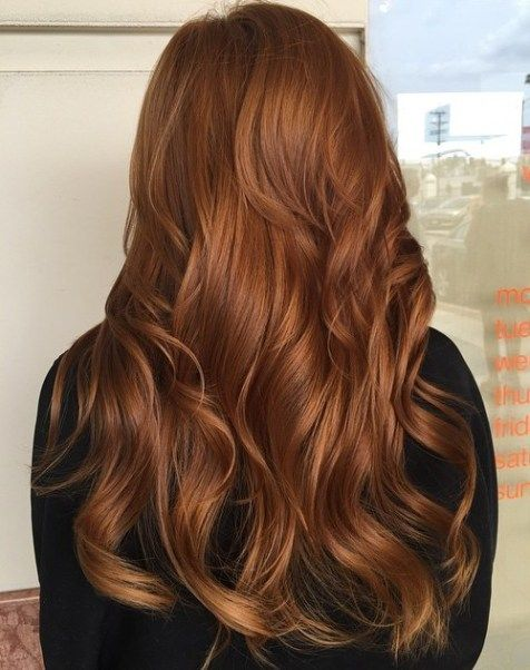 40 Fresh Trendy Ideas for Copper Hair Color   Copper hair color .