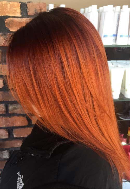 Copper Hair Color Ideas   Hair color orange, Hair shades, Copper .