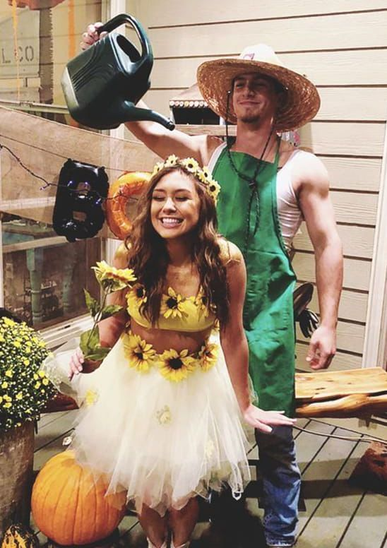 14 Affordable & Cute DIY Halloween Costumes for Couples | Ecemella .