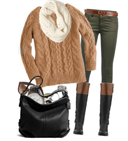 12 Warm and Cozy Outfit Combinations for Winter - Pretty Desig