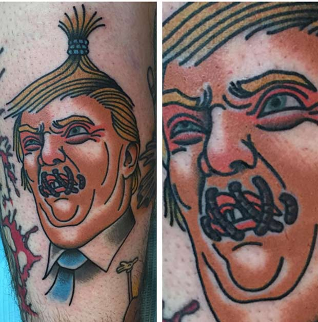 Donald Trump Tattoos: The Good, The Bad, and Insane | Team Jimmy J