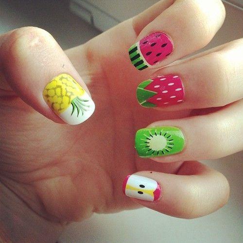 Creative Nail Designs | Fruit nail designs, Fruit nail art .