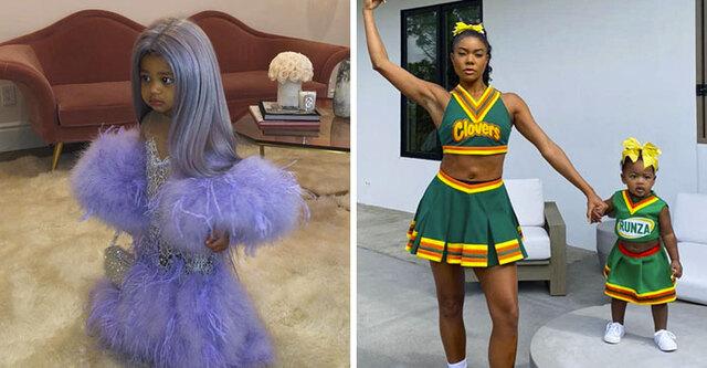 13 Creative Halloween Costumes Celebrities Dressed Up Their Kids .