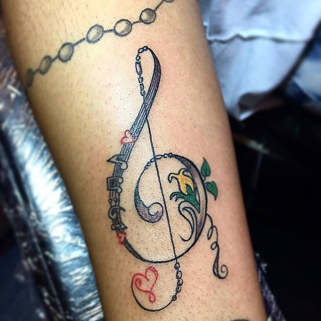 82 Creative Music Tattoos for The 'Music-Lover' in You (With .