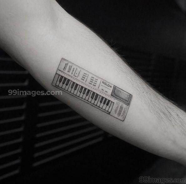 🌺 Creative Music Tattoos (HD Photos) - #14664 #musictattoos .