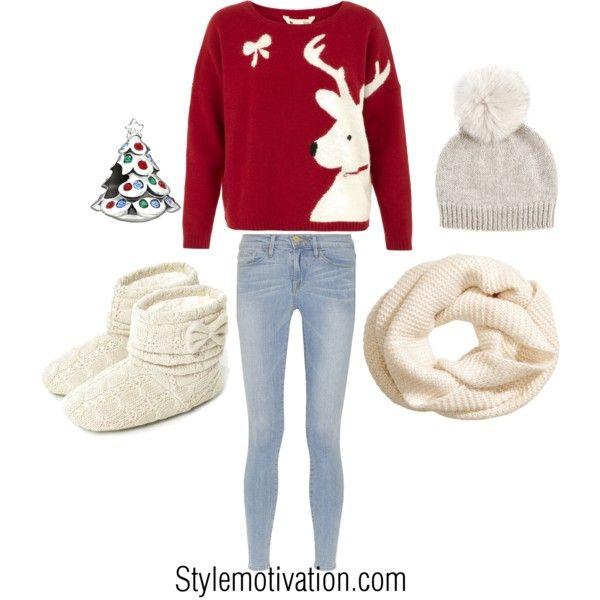 20 Cute Christmas Outfit Ideas | Cute christmas outfits, Christmas .