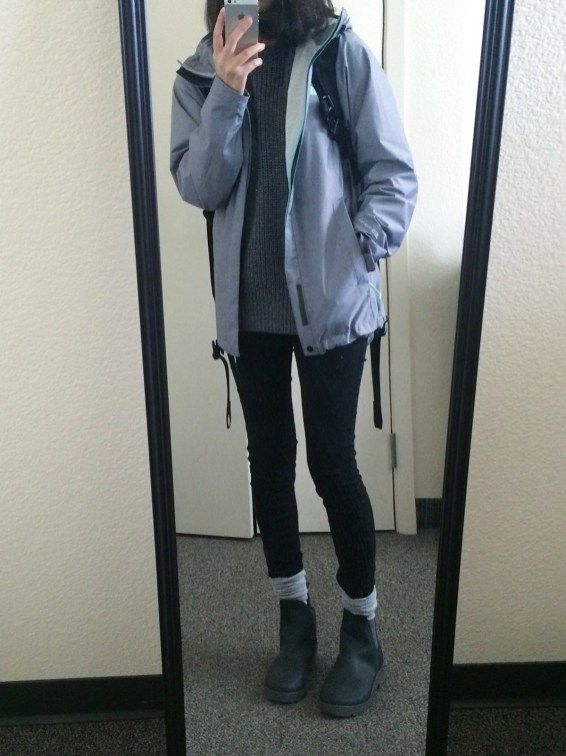 Cute Cold Rainy Day Outfits