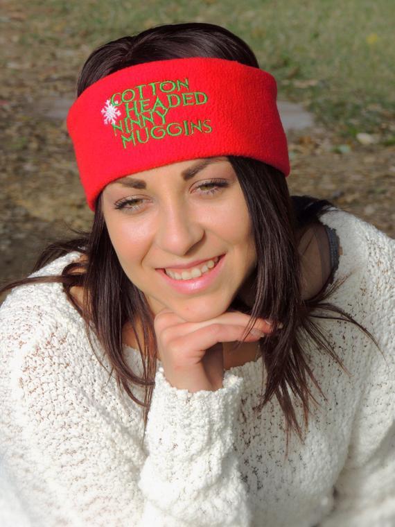 Cotton headed ninny muggins fleece ear warmer cute christmas | Et