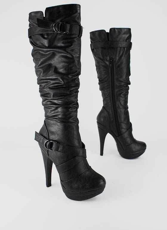 How may I help you? | Shoe Whore | Slouchy boots, Boots, Sho