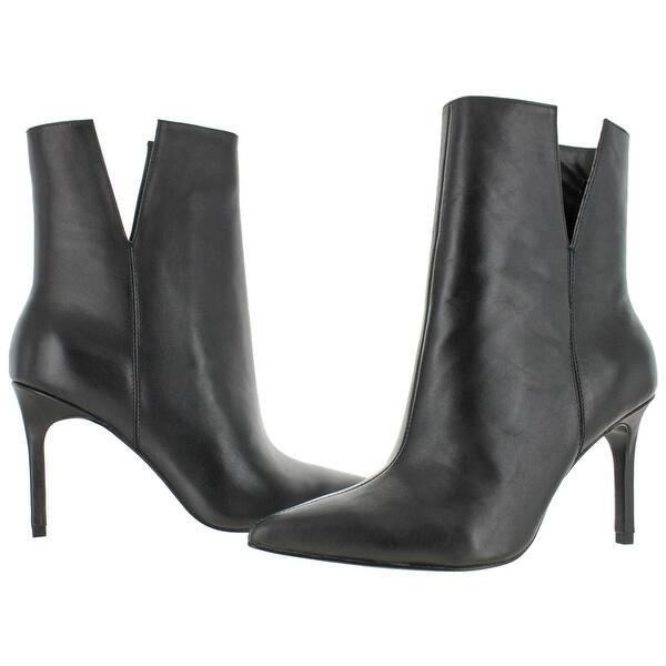Shop Charles David Womens Dashing Booties - Black Leather - 7 .