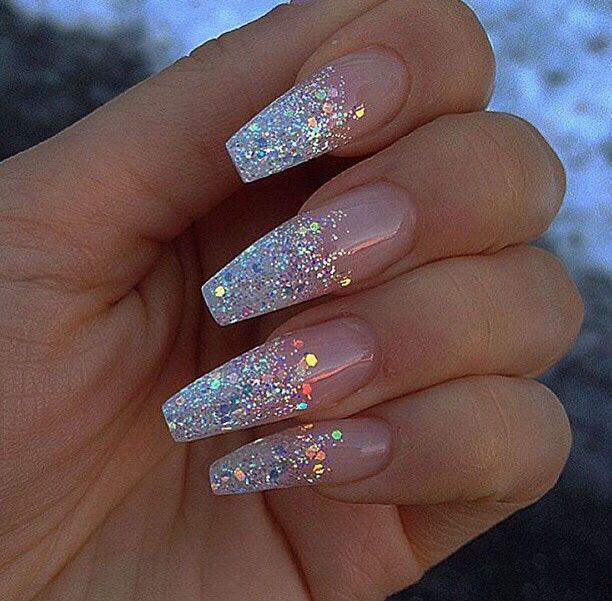 Pinterest: @JordanChrome | Nail designs glitter, Cute acrylic .