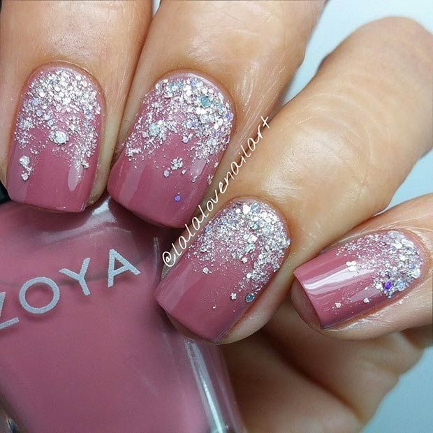 50 Best Nail Art Designs from Instagram | StayGlam | Silver .