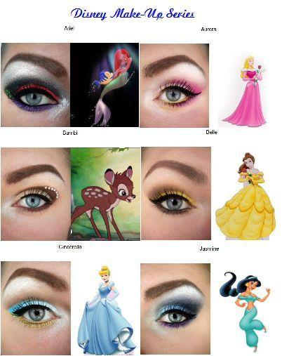 MissBeautyAddict !: Disney Make-Up Series | Disney inspired makeup .