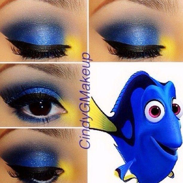 Amazing Disney Inspired Makeup | Disney eye makeup, Disney .