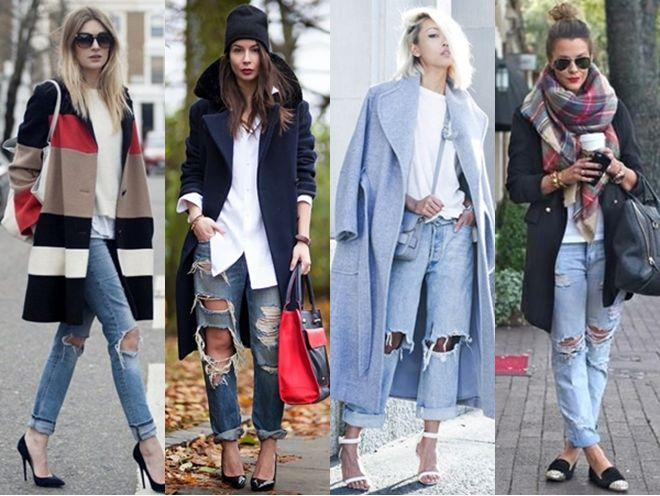12 Ways to Wear the Distressed Denim Trend for Fall | Creative Fashi