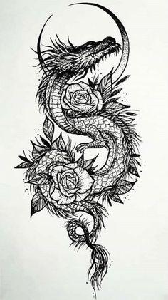 654 Best Dragon Tattoos images in 2020 | tattoos, dragon tattoo .