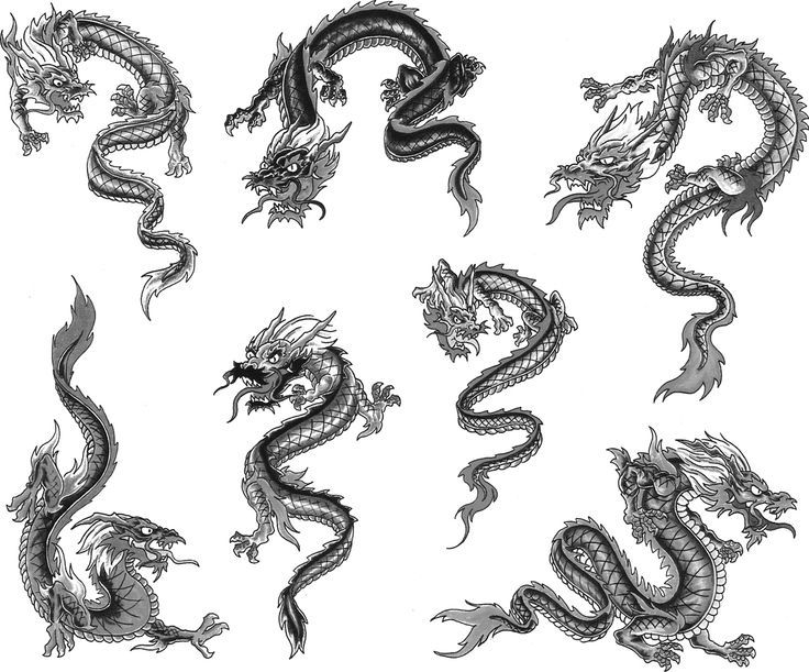 OnPoint Tattoos | Small dragon tattoos, Dragon tattoo for women .