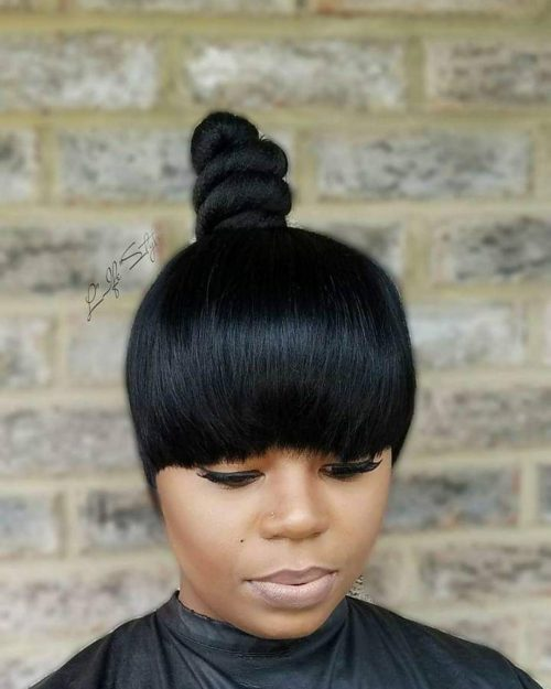 41 Top Shoulder Length Hairstyles for Black Women in 20