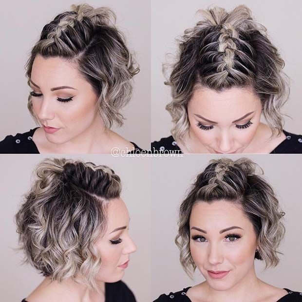 23 Quick and Easy Braids for Short Hair | Page 2 of 2 | StayGlam .