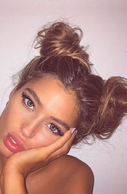 Hair Styles For School Picture Day For Teens Top Knot 70+ Super .