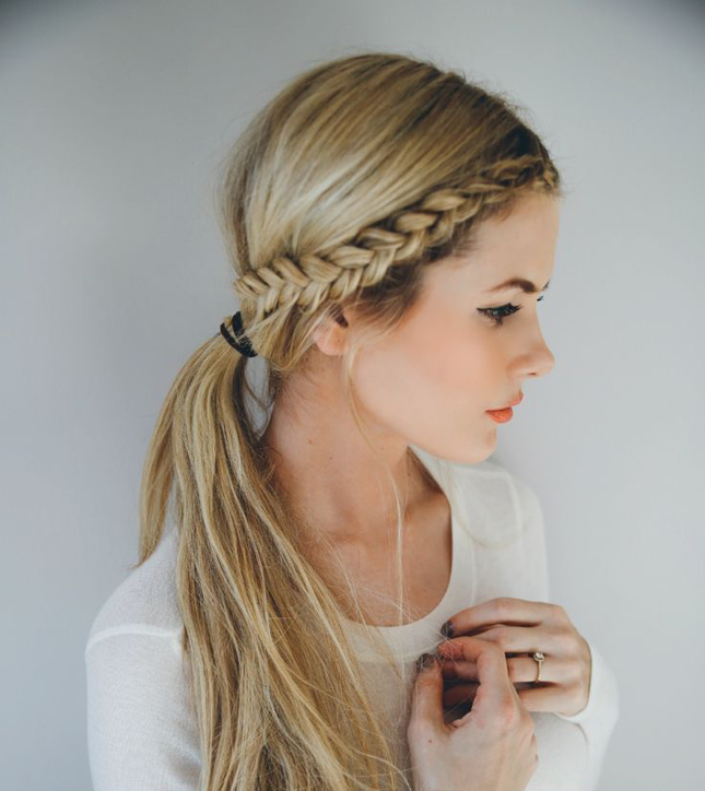 14 Ridiculously Easy 5-Minute Braided Hairstyles | Hair styles .