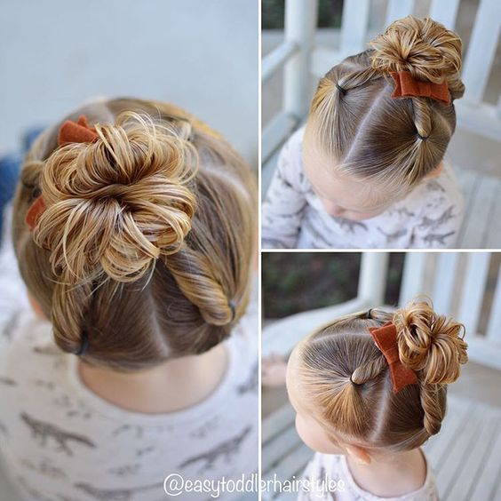 awesome 24 Easy Christmas Hairstyles for Girls | Little girl .