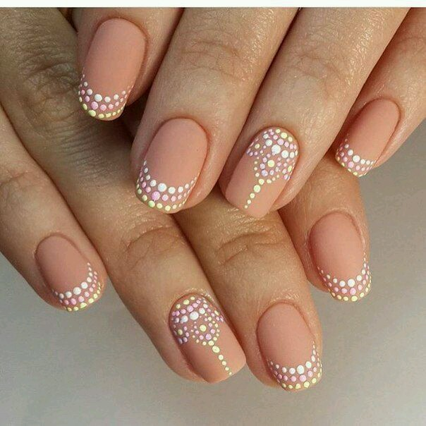 55 Truly Inspiring Easy Dotted Nail Art Designs for Everyday Fashi