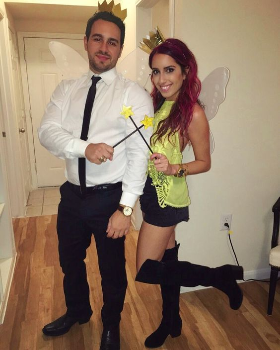 25 Easy & Unique Halloween Costume Ideas for Couples - Its Claudia .