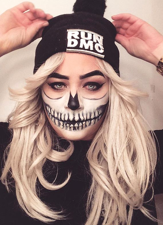 Seriously Cool Halloween Makeup Ideas That Will Overshadow a Basic .