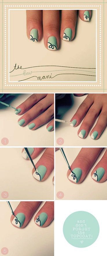 Easy Nail designs for short nails | Nails, Nail art designs diy .