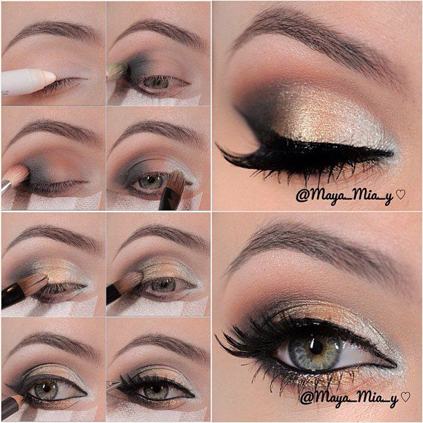 14 Stylish Shimmer Eye Makeup Ideas for New Year's Eve - Pretty .