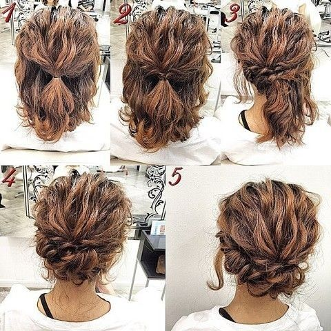 20 Gorgeous Prom Hairstyle Designs for Short Hair: Prom Hairstyles .