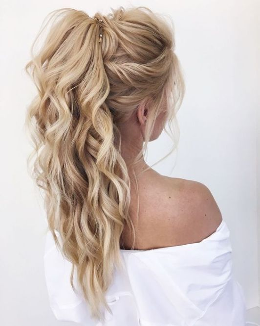 Pretty Easy Prom Hairstyles for Long Hair - Prom Long Hair Ideas .