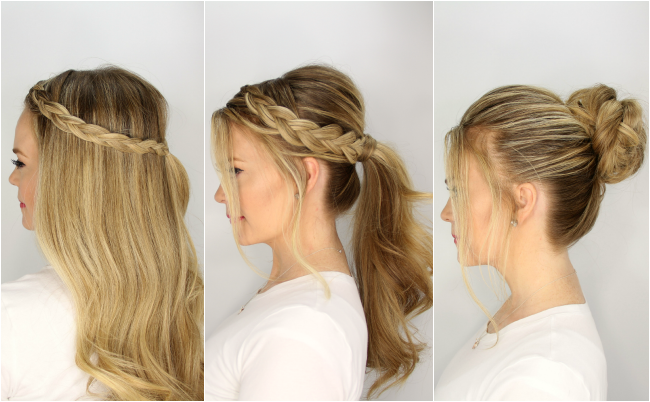 3 simple summer hairstyles - hairstyle