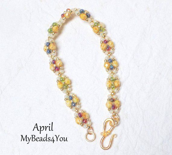 Beading Tutorials and Patterns Easy to Follow Seed Bead   Etsy .
