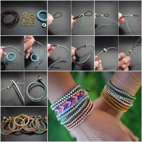 75 Incredibly Easy-to-Follow DIY Bracelet Tutorials to Tickle Your .