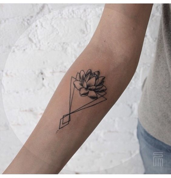 Edgy Geometric Tattoos