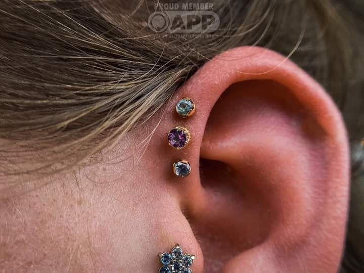 Edgy Helix Piercing Styles