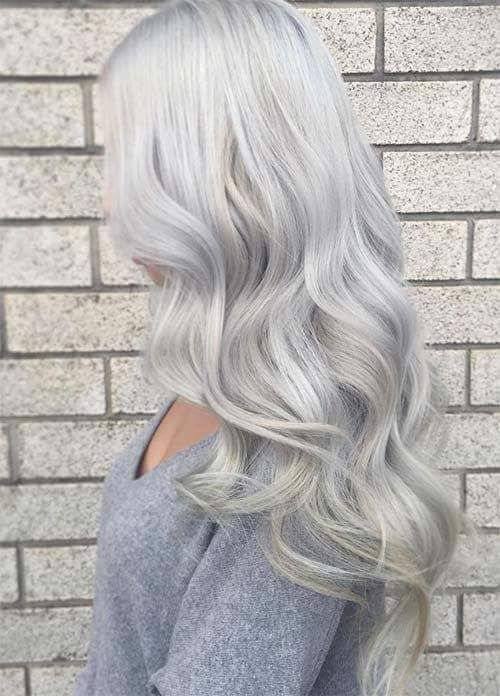 65+ Elegant Ash Blonde Hair Hues You Can't Wait to Try Out | Grey .