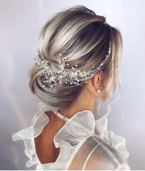 Pearls Wedding Hair Piece Bridal Hair Vine Bridal Hair Piece .