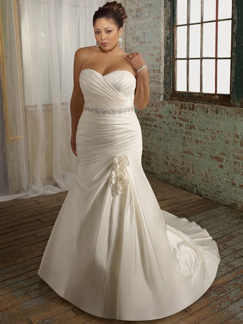 Elegant Plus Size Wedding Dress PS164 | Plus size wedding gowns .